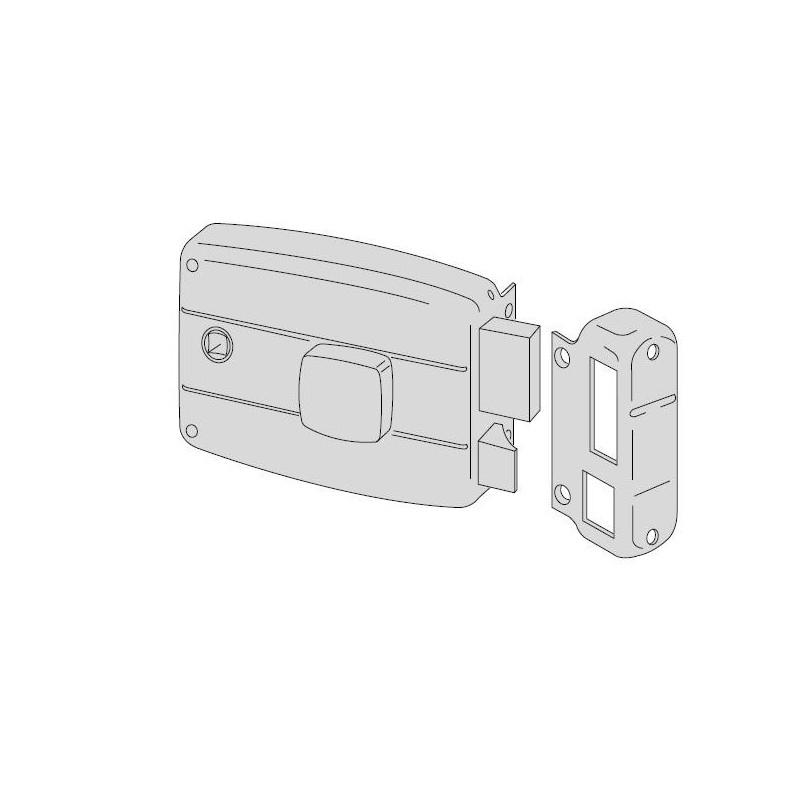 Serratura CISA 50180 da applicare per portoncino