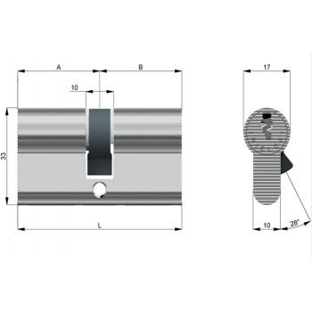 Cilindro Rielda RS4 1200