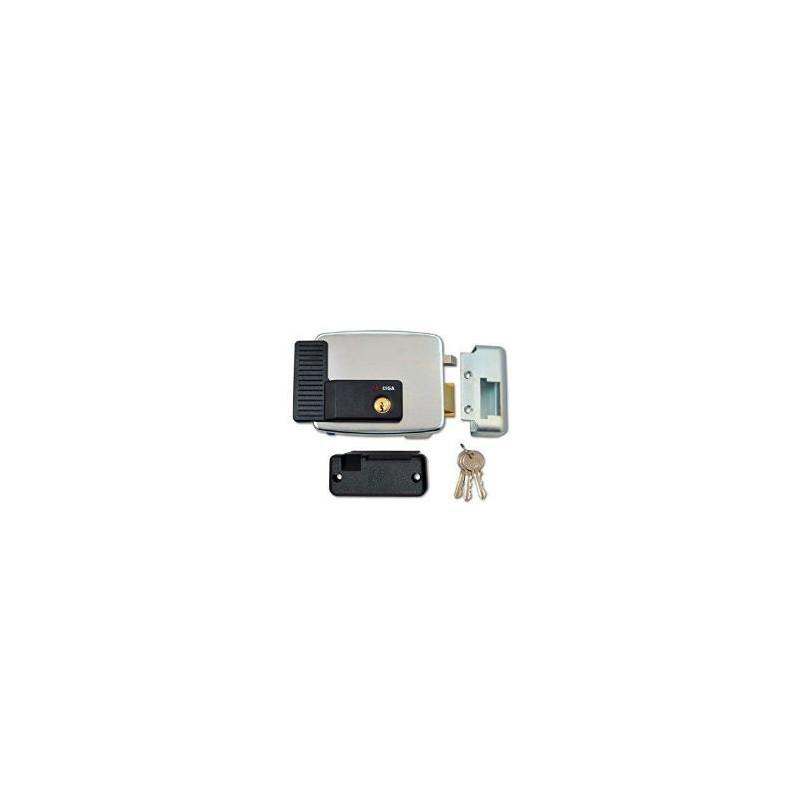 Elettroserratura CISA 11921 da applicare a scrocco rovesciato