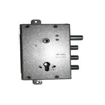 Serratura CISA 56515-58-0-PG per porta blindata predisposta per cilindro europeo