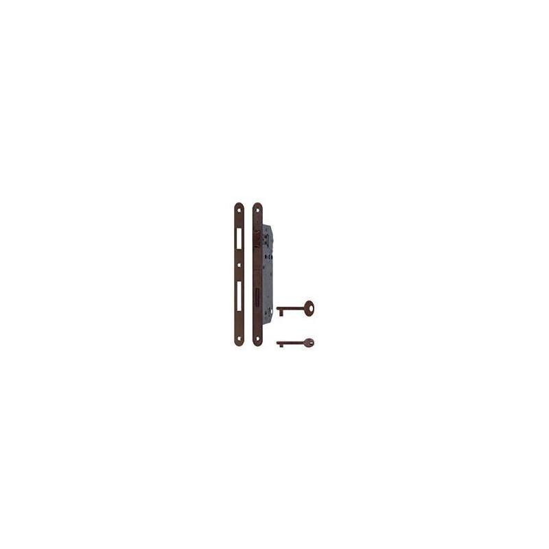 Serratura AGB Patent B00595.50 bordo tondo frontale 22mm