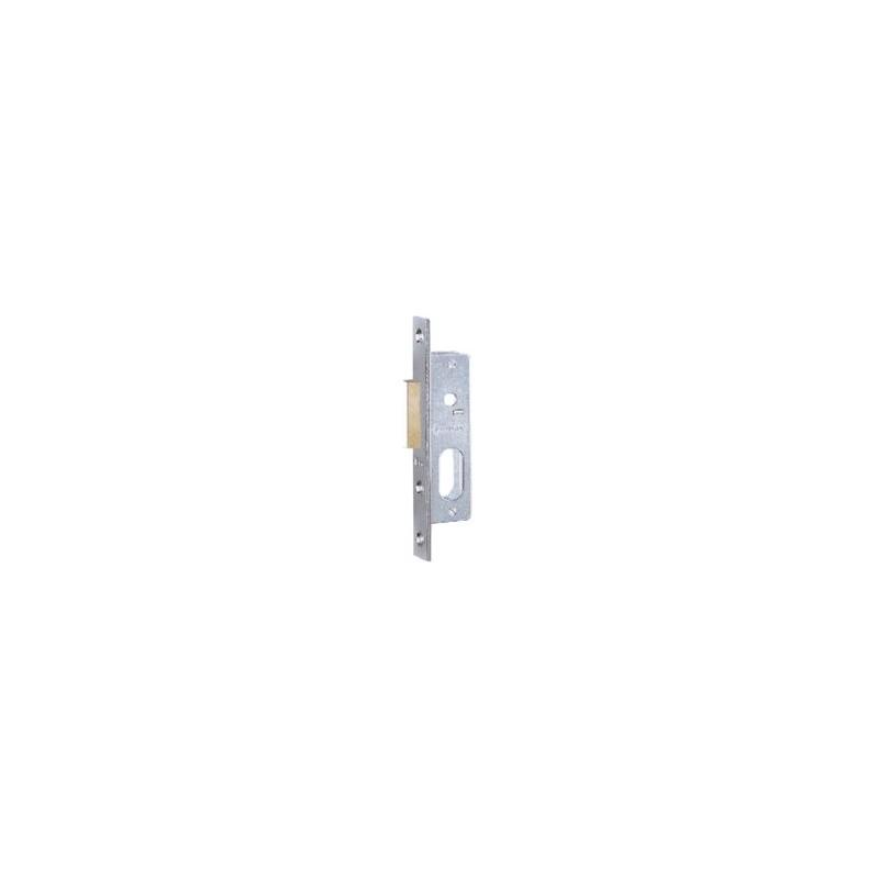 Serratura Iseo 758.15.10 per montante cilindro ovale