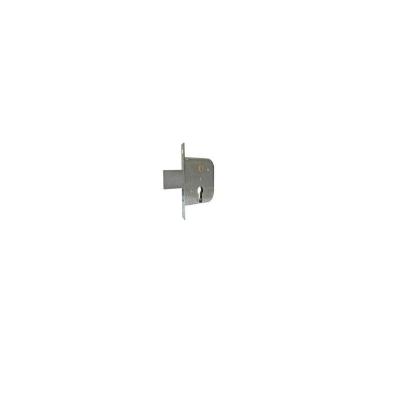 Serratura MG 133 da infilare per cancello con cilindro 015.56.0