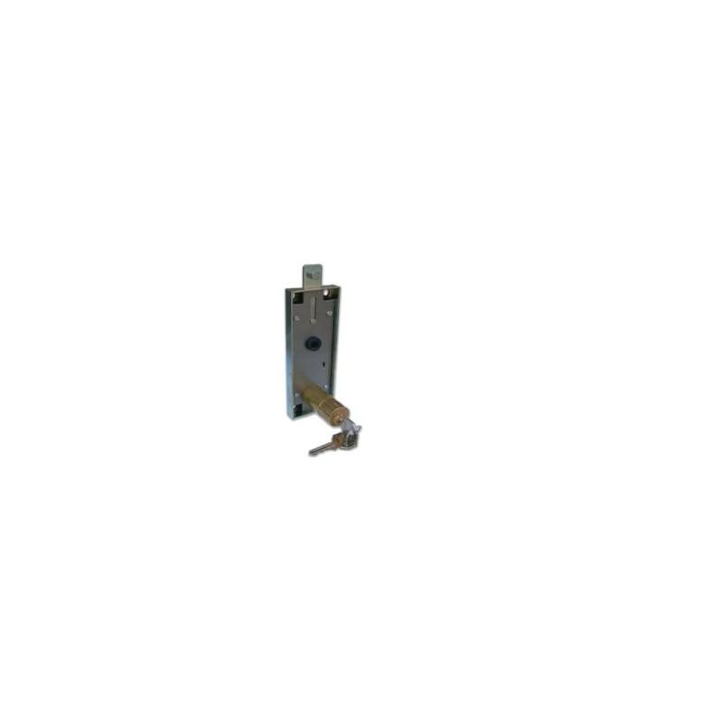 Serratura Prefer B551 per porte basculanti cilindro ottone mm.50