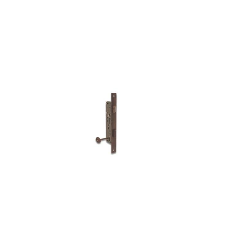 Serratura STV Patent bronzata quadro 8 mm