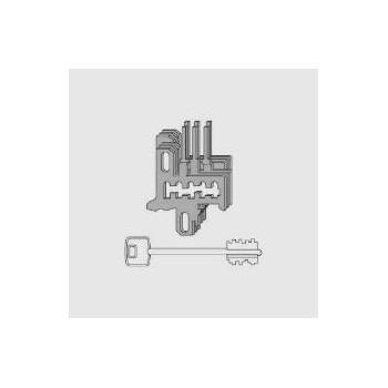 Nottolini Cisa 07590.25 fornito con 3 chiavi
