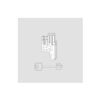 Nottolini Cisa 07591.12 fornito con 3 chiavi