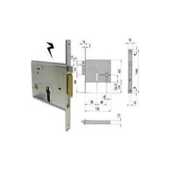 Elettroserratura CISA 14010 da infilare