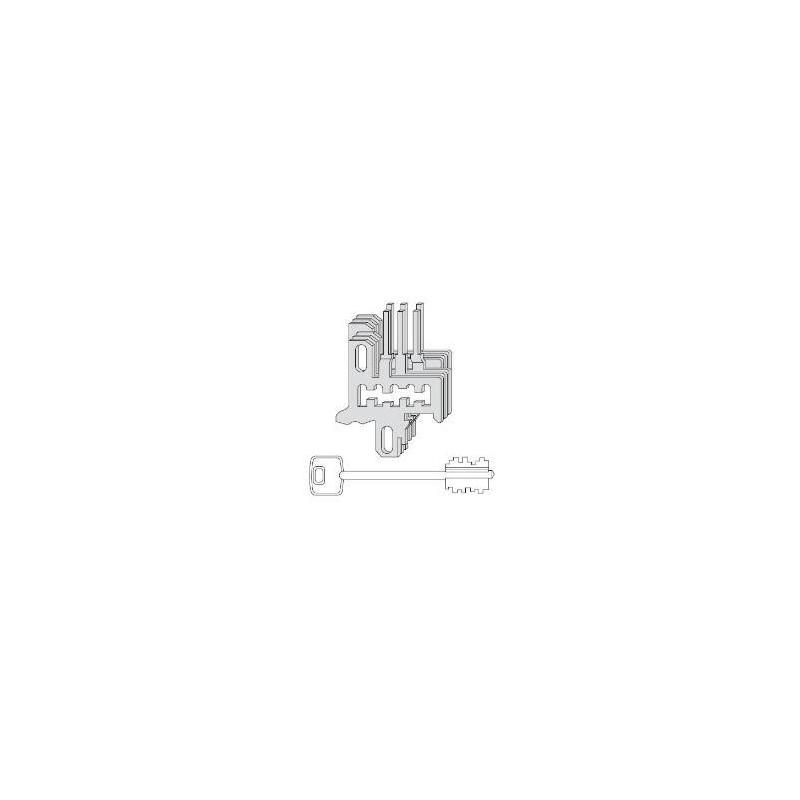 Nottolini Cisa 07590.26 forniti con 3 chiavi
