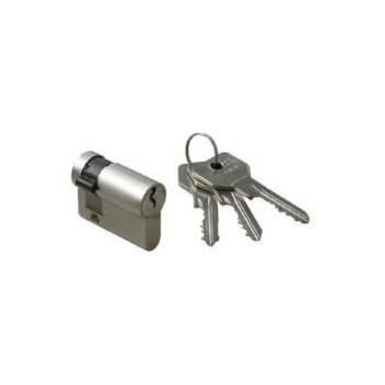 Cilindro Cisa 0G305 nichelato