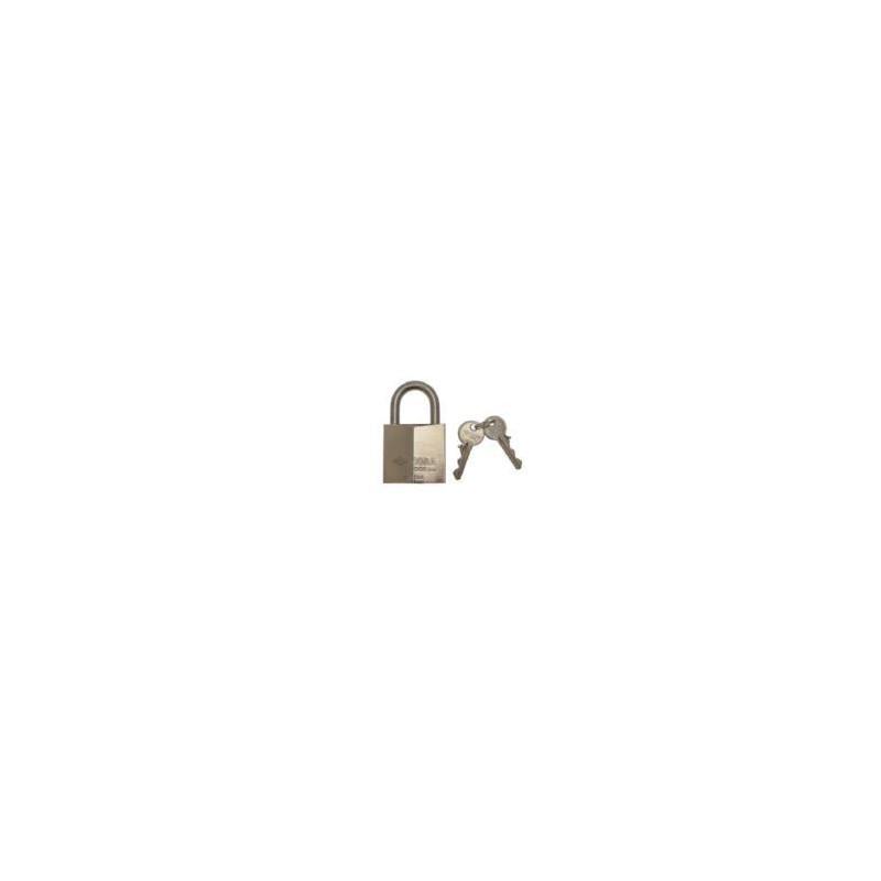 Lucchetto Cisa 21710 Logo in acciaio inox